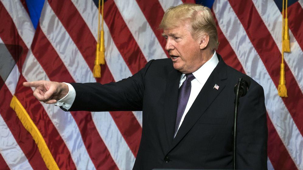 Foto: El presidente de EEUU, Donald Trump (Efe)