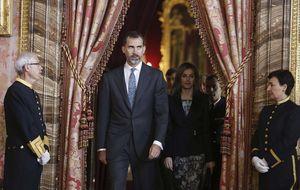 Cristina se cuela en el primer discurso de Navidad de Felie VI