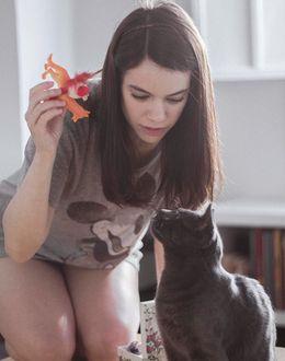 Foto: Elisa Victoria, autora de 'Porn and pains'