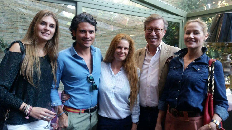 Fiona Ferrer, Julián Porras, Olivia de Borbón y José Luis (Victorio & Lucchino).