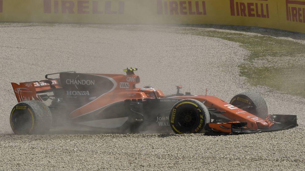Foto: Stoffel Vandoorne en el GP de España. (AFP)