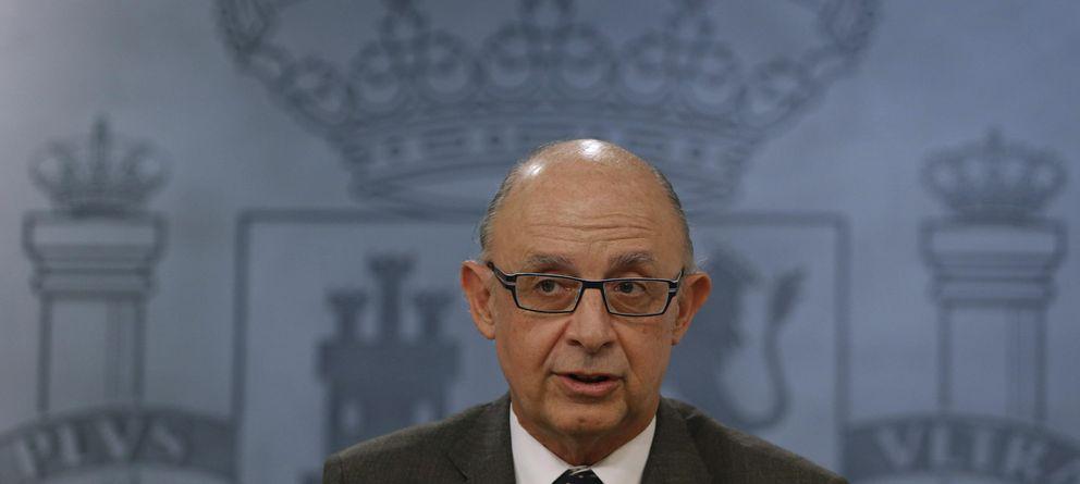 Foto: El ministro de Hacienda, Cristóbal Montoro (efe)
