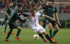 El Betis quiere otra alegría europea ante un Sevilla que sueña con remontar