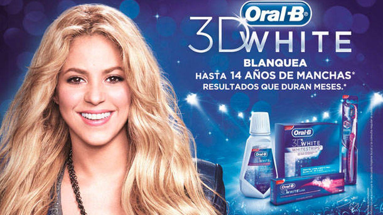 Shakira como imagen publicitaria de Oral-B.