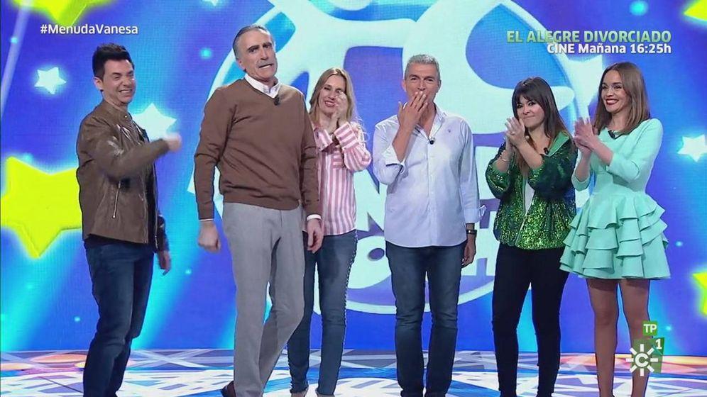 Foto: Programa de Juan y Medio en Canal Sur TV