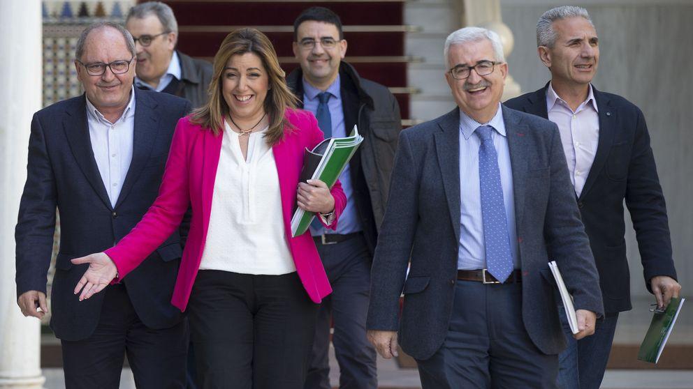"""Susana Díaz reclama a Pablo Iglesias que pida perdón por su """"indecencia"""""""