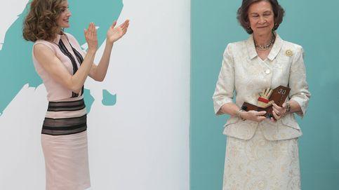 La Reina Letizia le entrega un premio a Doña Sofía y revela un secreto entre ambas