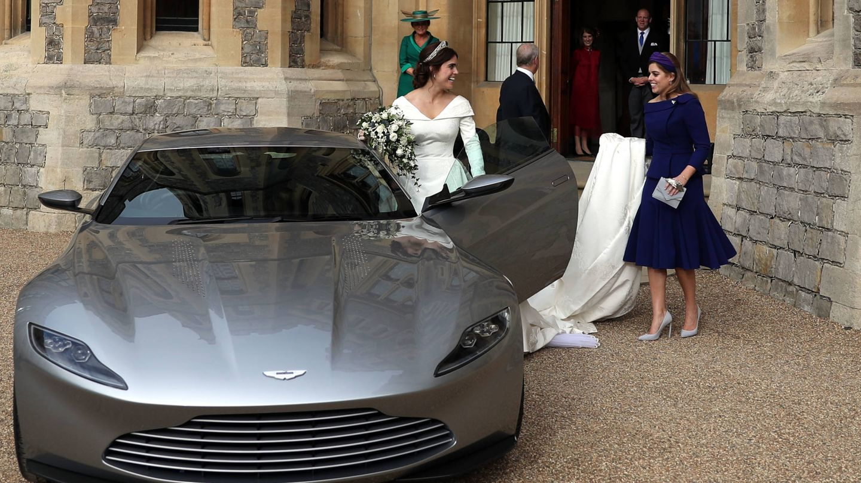 La boda de Eugenia de York no ha sido precisamente 'low cost'. (Getty)