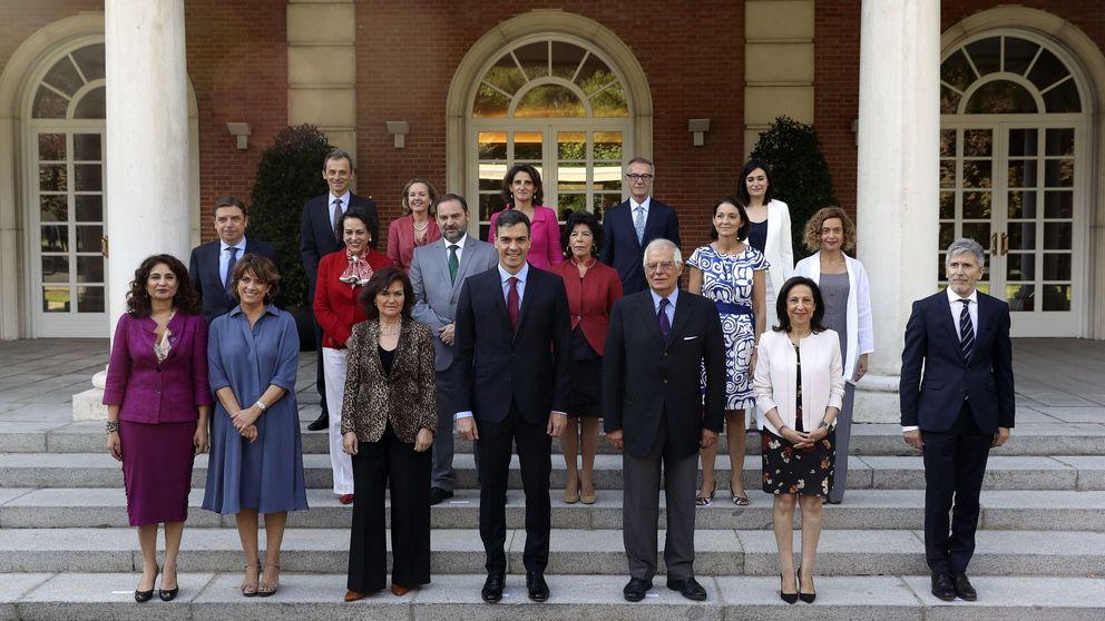 El Consejo de Ministros de Rajoy era un 27% más rico que el actual de Sánchez