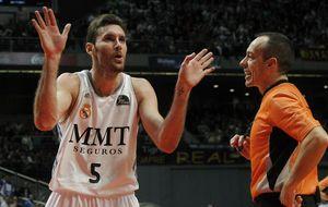 Un espectacular Rudy Fernández lanza al Real Madrid ante el CAI