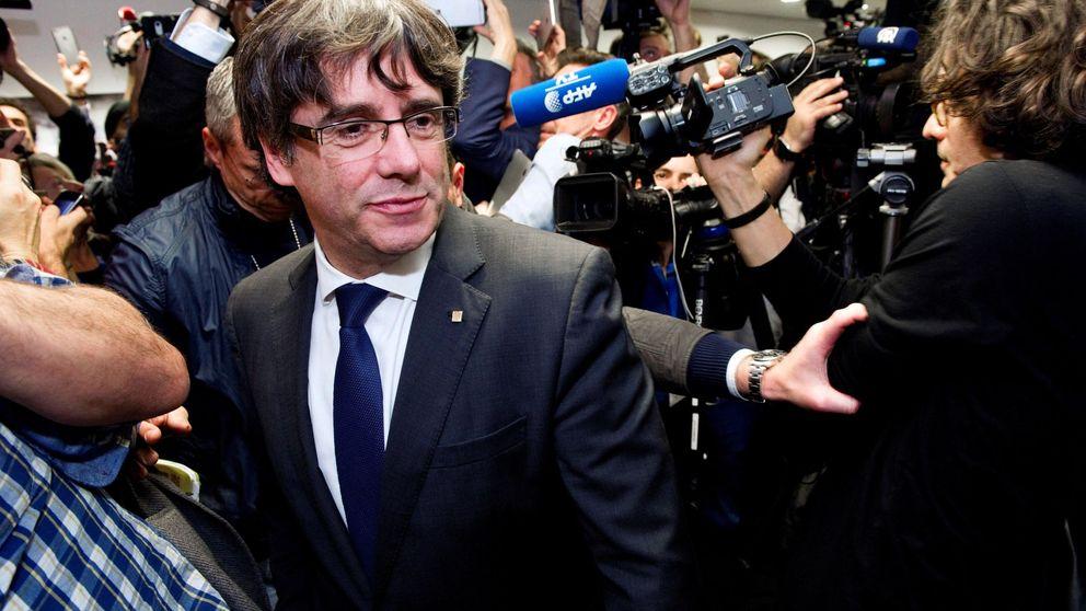 Puigdemont y los 'exconsellers' arrestados en Bruselas mientras prestan declaración