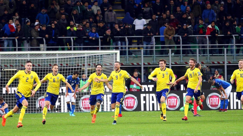 Cómo Suecia hundió sin Ibrahimovic en la más absoluta miseria a Italia