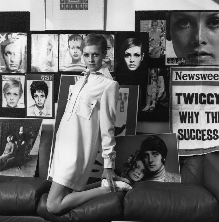 Foto: La modelo inglesa revolucionó el mundo de la moda. (Getty)