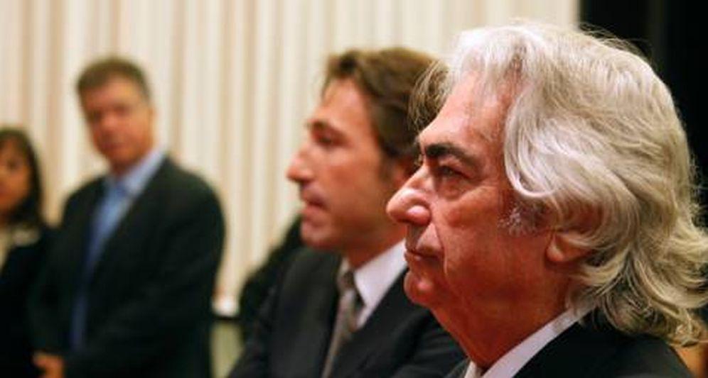 Foto: Manuel lao Hernández, en primer plano, en una foto de archivo. (EFE)