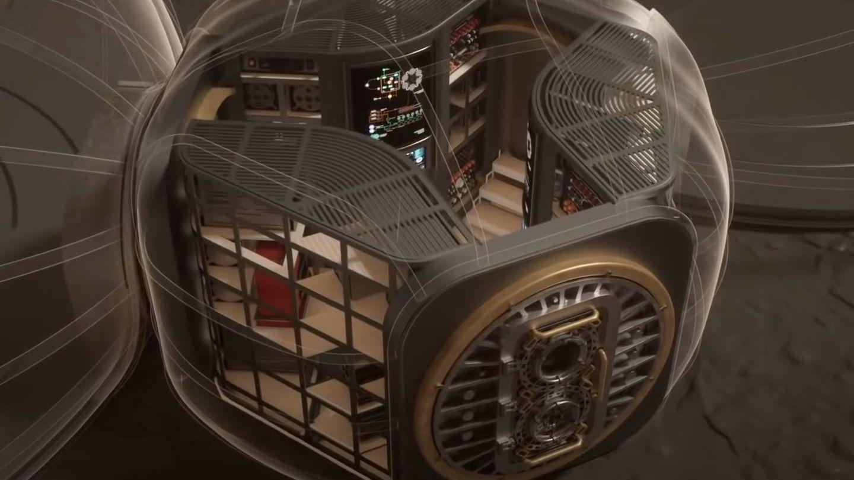 Partes de los Starships se usarán en los módulos habitables.