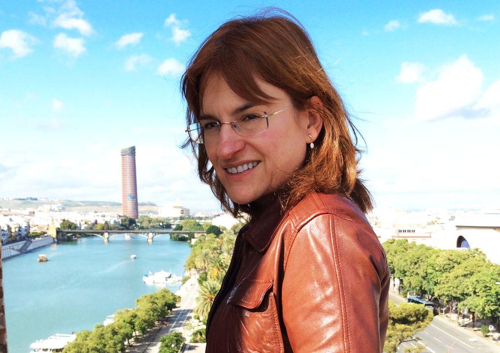 Foto: Silvia Sesé, editora de Destino que en abril pasará a ser adjunta a la dirección de Anagrama. (A. F.)