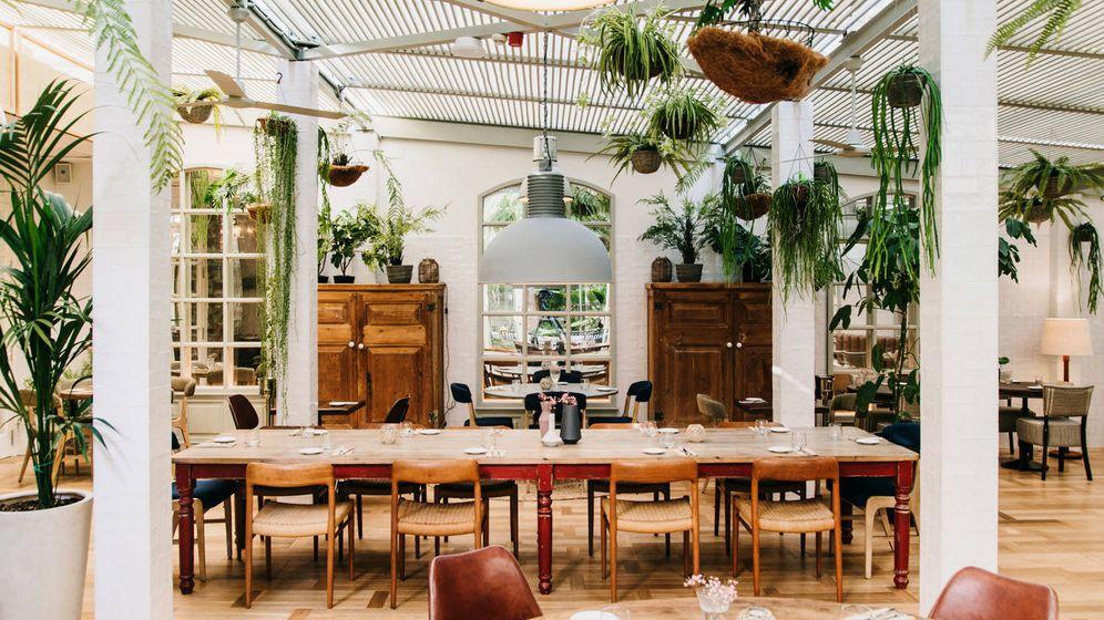 Foto: El restaurante Green House es verde también en su decoración. (Cortesía)