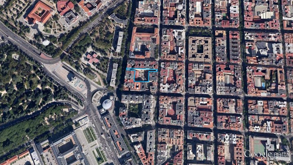Defensa vende a una cooperativa un solar en Moncloa para garajes