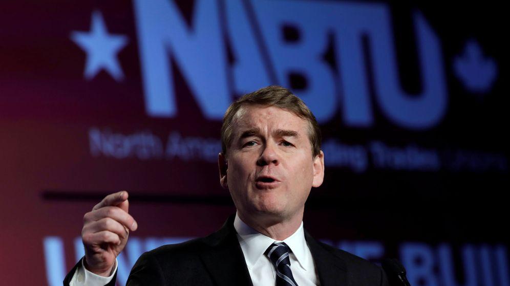 Foto: El senador Michael Bennet. (Reuters)