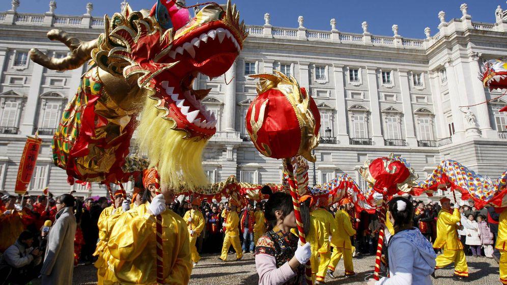 Foto: Celebración del Año Nuevo chino en Madrid. (EFE)
