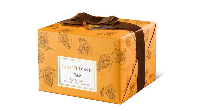 Foto: Izadittone es un panettone elaborado con chocolate y orujo de vino.