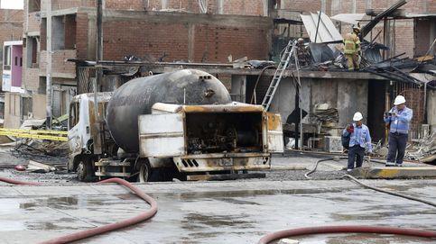 Una cámara de seguridad capta la espectacular explosión de un camión de gas natural