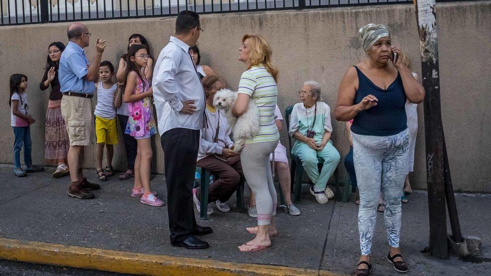 Un terremoto de magnitud 6,9 sacude Venezuela y causa daños en edificaciones