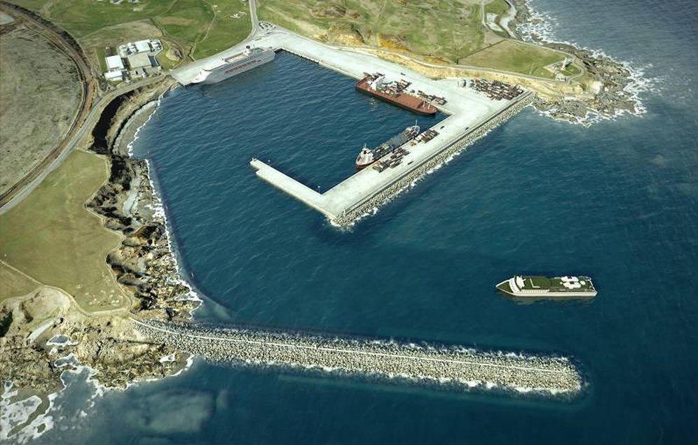 Foto: Imagen del puerto de Aberdeen.