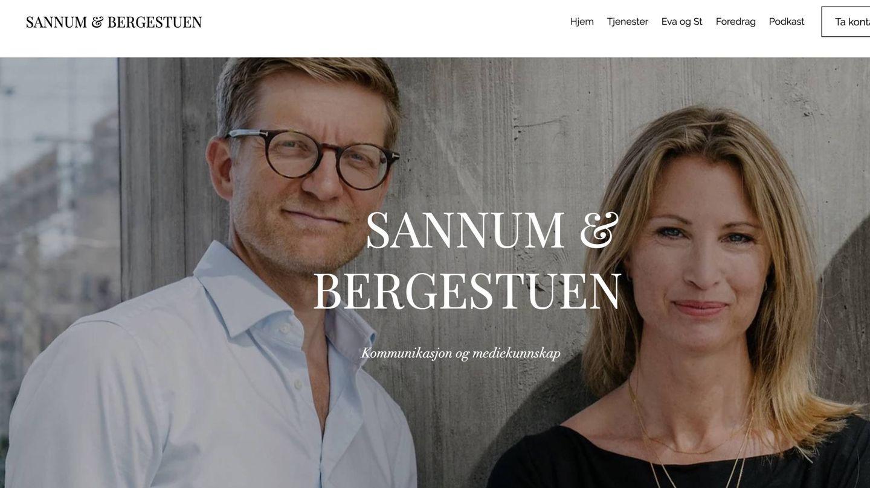 Captura de su página web.