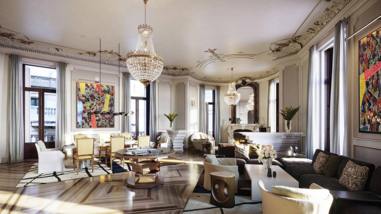 Una imagen de la suite real del Four Seasons.