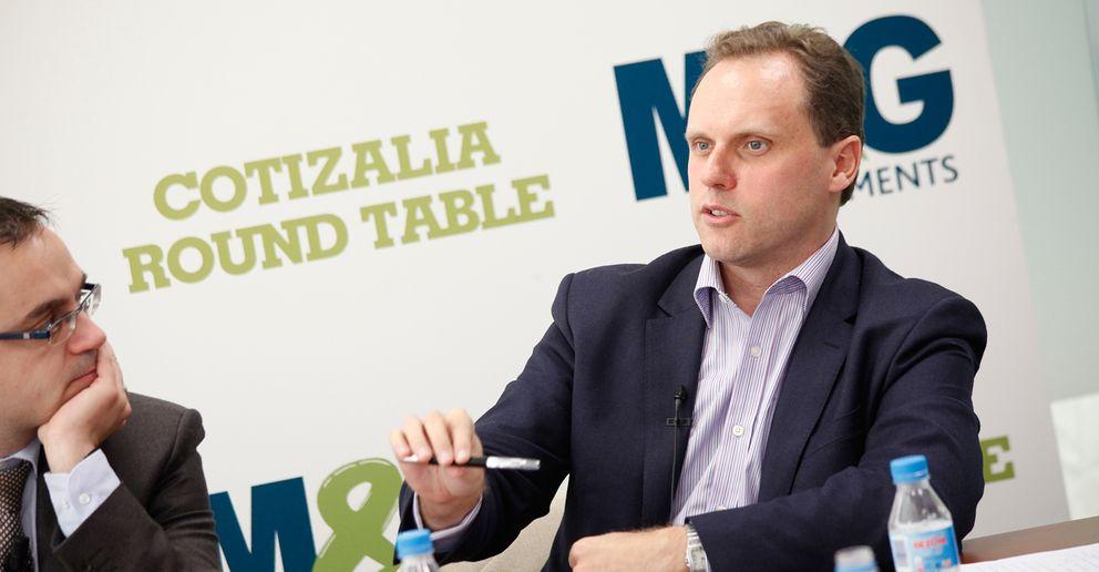 Foto: Daniel Lacalle durante un 'Round Table' organizado por Cotizalia (E.Villarino)