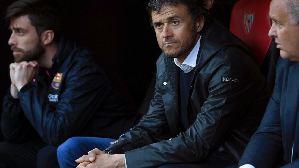 A Luis Enrique le atizan en su  casa... y a Ancelotti le salen las cuentas
