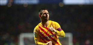 Post de La rabia de Leo Messi para celebrar su gol o cuando nadie le tose en su sexto Balón de Oro