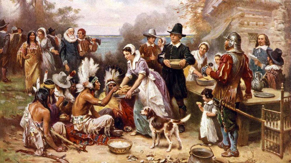 Foto: Británicos y estadounidenses se las han ingeniado para fingir que la colonización de América no fue una matanza.