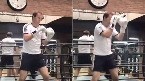 Julen Lopetegui, tras el fracaso con el Real Madrid, se quita el estrés con el boxeo