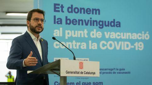 Pere Aragonès recibe la primera dosis de Pfizer y llama a la vacunación masiva