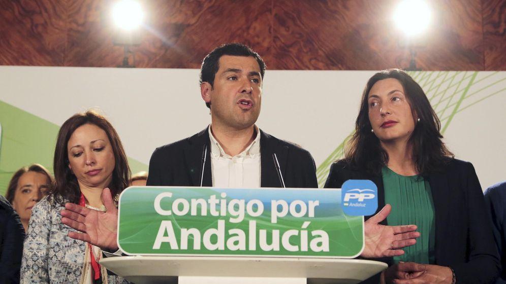 Foto: El candidato del PP a la Junta de Andalucía, Juan Manuel Moreno. (Reuters)