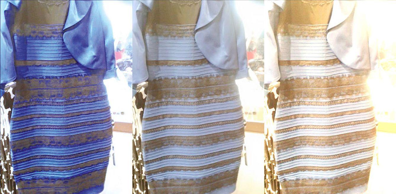 Foto: El vestido que trae loco a Internet (Montaje)