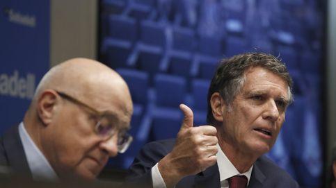 El valor en bolsa de Sabadell aún es menor que su exceso de capital