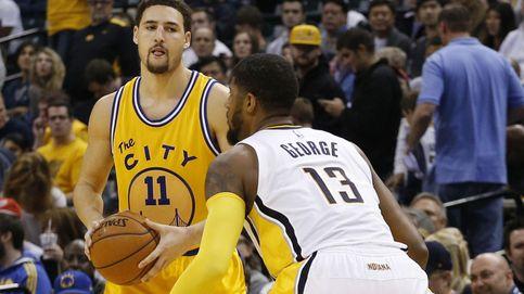Los Warriors empatan la segunda racha histórica de la NBA gracias a Thompson