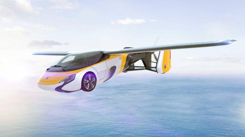 Foto: Vista de un 'render' del Aeromobil, un modelo eslovaco que costará 1,2 millones de dólares. (EC)