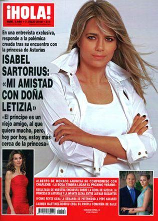 Foto: Isabel Sartorius explica su amistad con Letizia