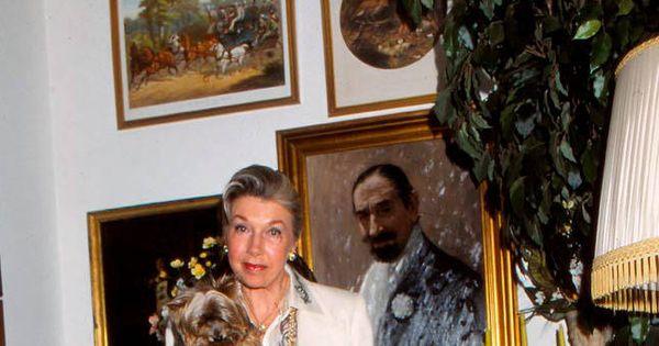 Noticias De Famosos: Fallece Margit Ohlson, Viuda De Jaime