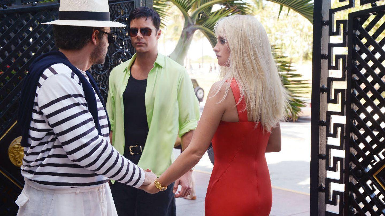 Gianni, Antonio y Donatella, en una imagen de la serie. (Atresmedia)
