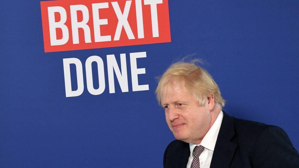 Foto: El primer ministro británico, durante la campaña electoral. (EFE)