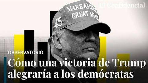 Por qué una victoria de Trump es lo mejor que le puede pasar al partido demócrata