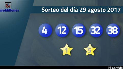 Resultados del sorteo del Euromillones del 29 de agosto de 2017