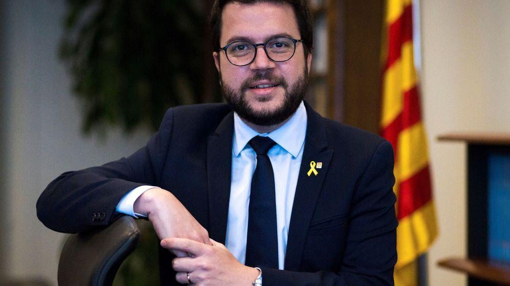 Foto: El vicepresidente del Govern y 'conseller' de Economía y Hacienda, Pere Aragonès. (EFE)