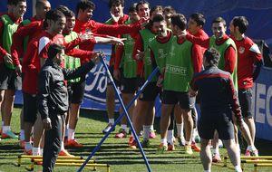 David Villa no 'pega' en la idea de Simeone de aburrir hoy al Milan