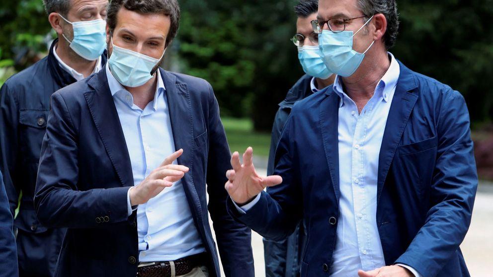 Feijóo, contra todos y contra Casado: arranca la campaña electoral en Galicia